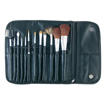 Kit de 12 pinceaux maquillage
